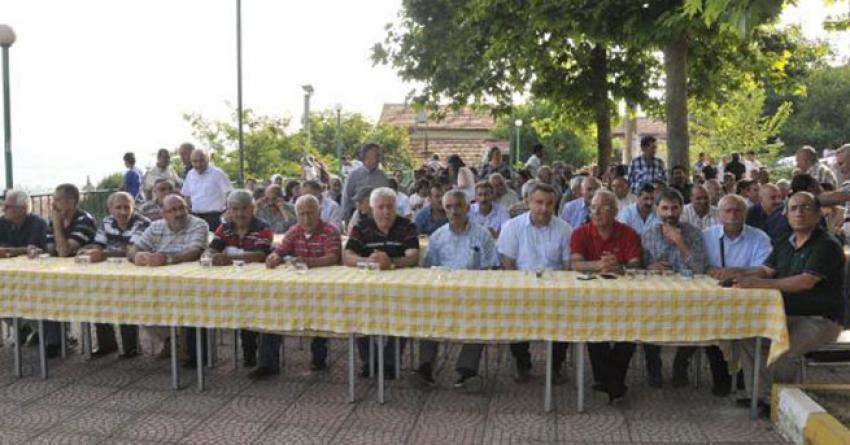 İzmit'te ev işaretlenmesi protesto edildi