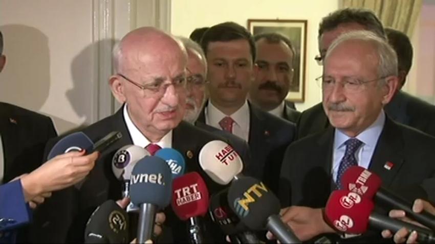 Meclis Başkanı Kahraman'dan Kılıçdaroğlu'na ziyaret
