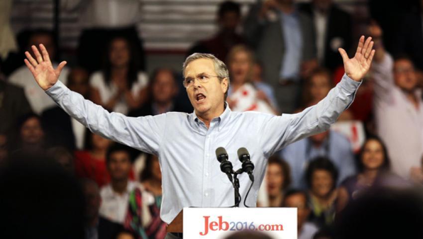Bush da ABD Başkanlığı'na aday oldu