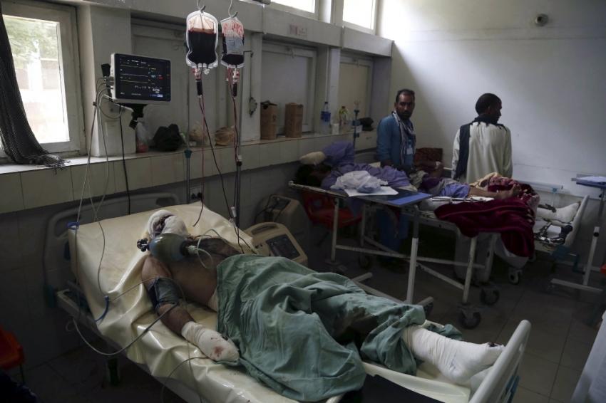 Afganistan'da intihar saldırısı: 20 ölü, 15 yaralı
