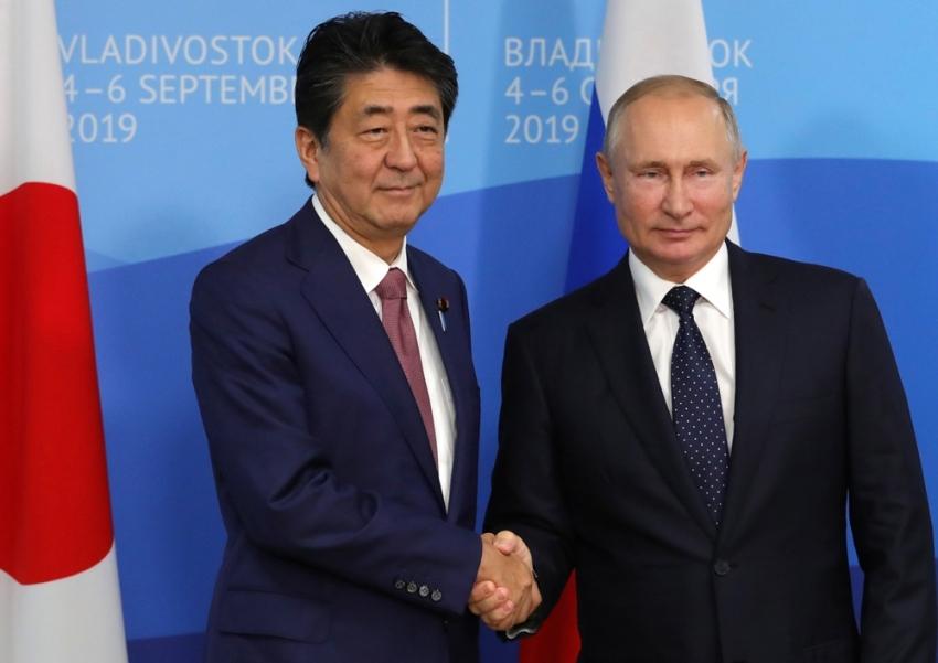 Japonya ve Rusya liderlerinden kritik görüşme