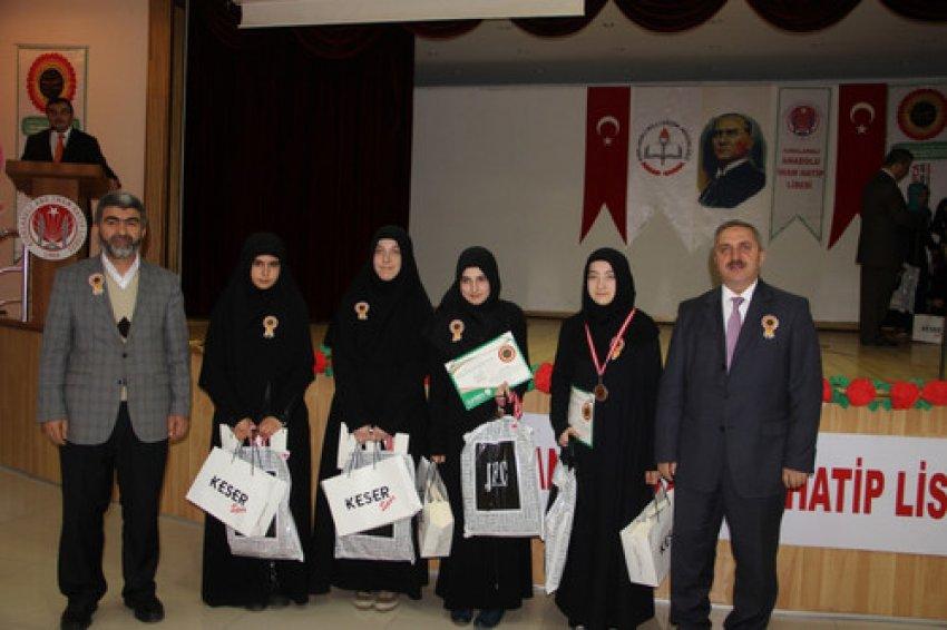 Arapça bilgi ve etkinlik yarışmasında Bursa damgası