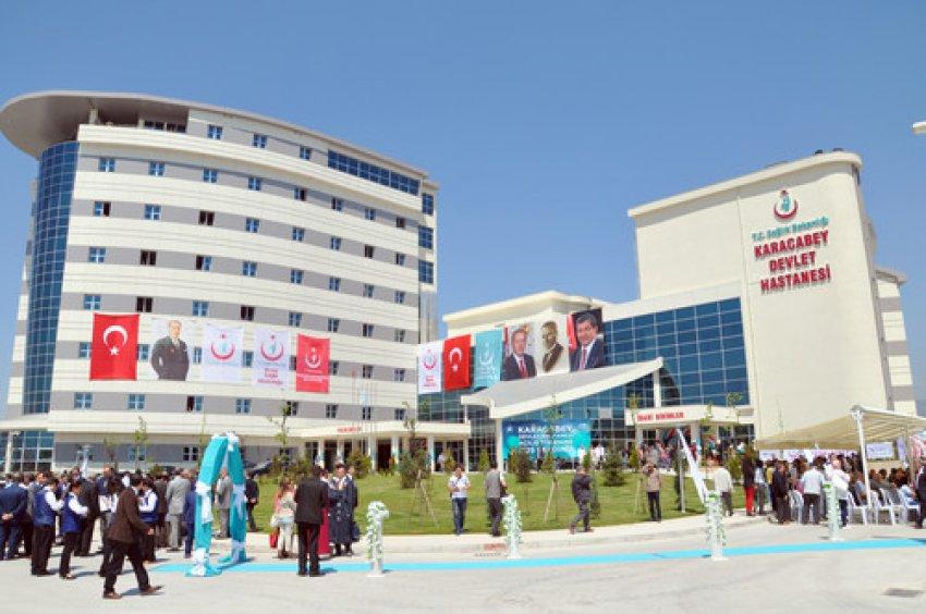 Karacabey Devlet Hastanesi törenle açıldı