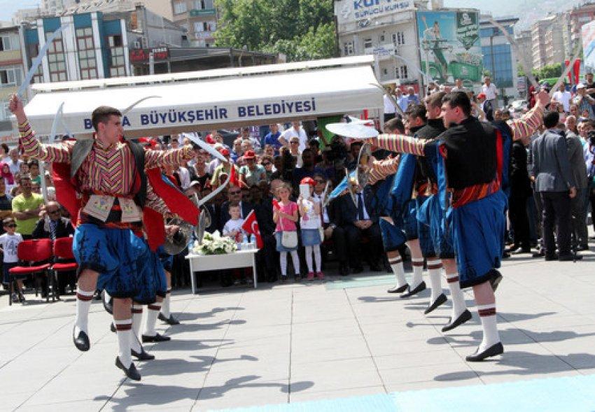 Bursa'da 19 Mayıs coşkusu!