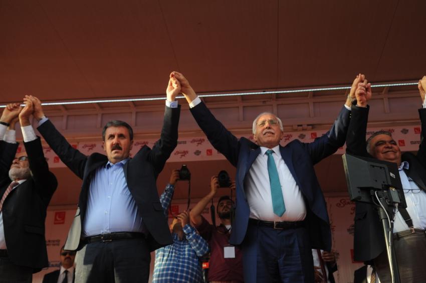 Kamalak ve Destici, Bursa'da konuştu