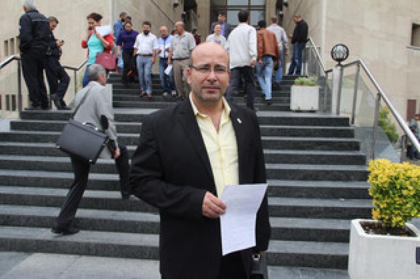 Bursa'da bağımsız aday, seçimin iptalini istedi