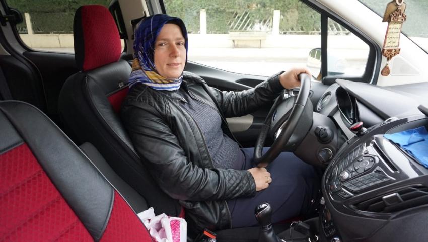 Sakarya'nın 'Şoför Nebahat'i