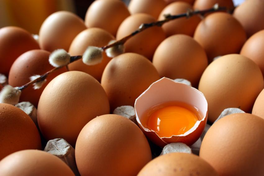 Ekmek yerine 10 yumurta, 2 turp