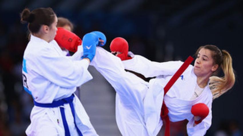 Türkiye'ye karateden altın madalya