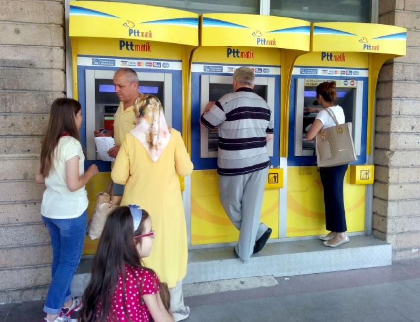 Bursa'da PTT ATM'lerinden 285 bin lira kayboldu