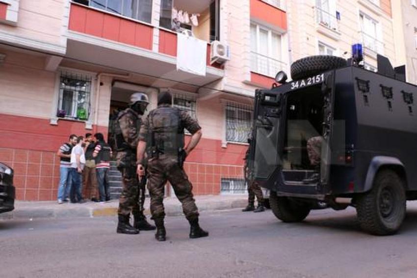İstanbul'da IŞİD'e yönelik şafak operasyonu