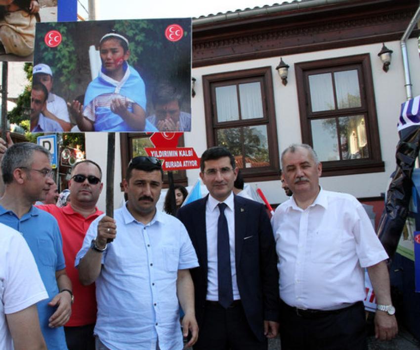 MHP Bursa tepkisiz kalmadı