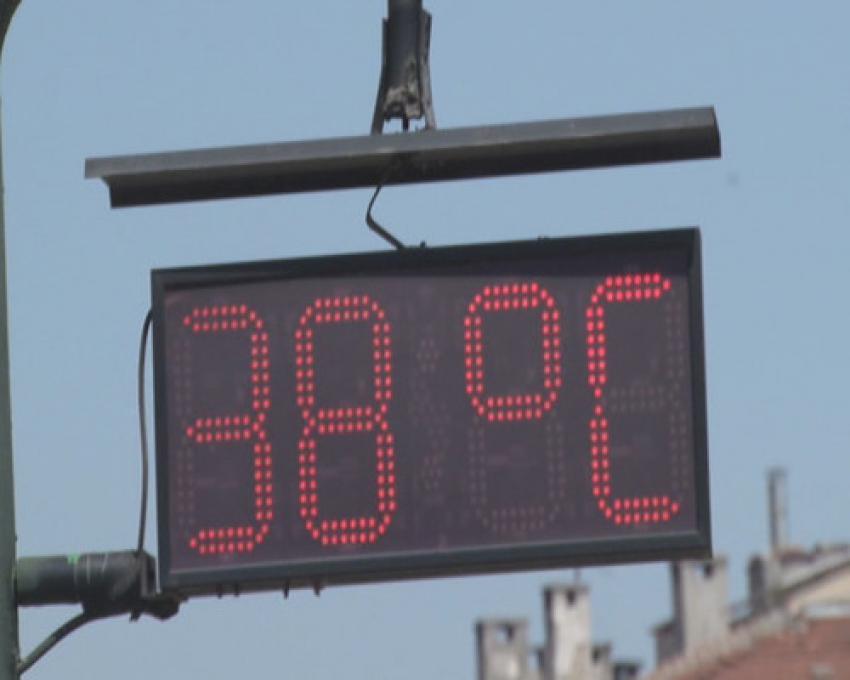 Bursa'da sıcaklık rekor düzeyde arttı