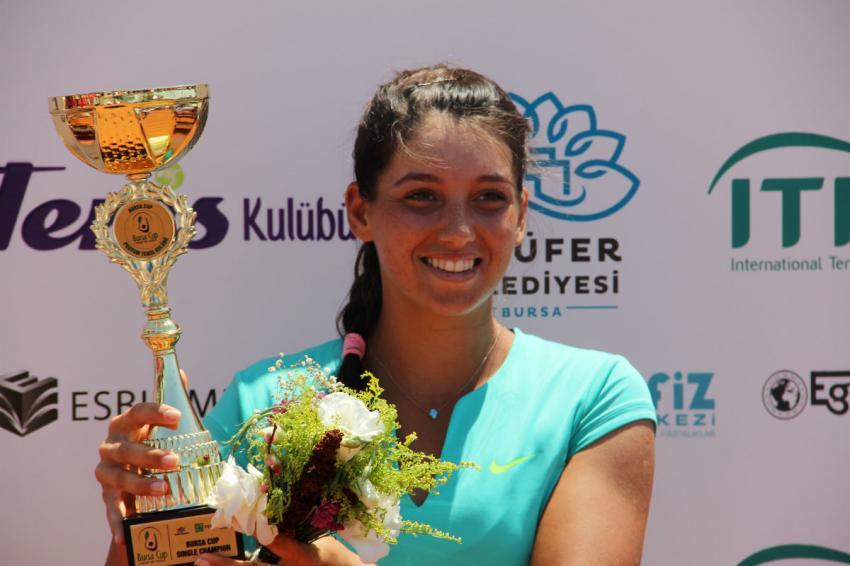 İpek Soylu, Türk tenisinde bir ilke imza attı