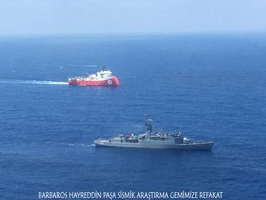 Deniz Kuvvetlerinden Doğu Akdeniz'e kesintisiz refakat