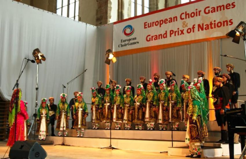 Nilüfer Çoksesli Korosu'ndan uluslararası başarı