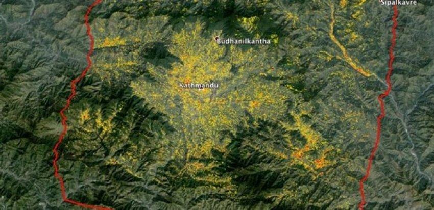 NASA'nın radarı Nepal'de kalp atışlarını izliyor