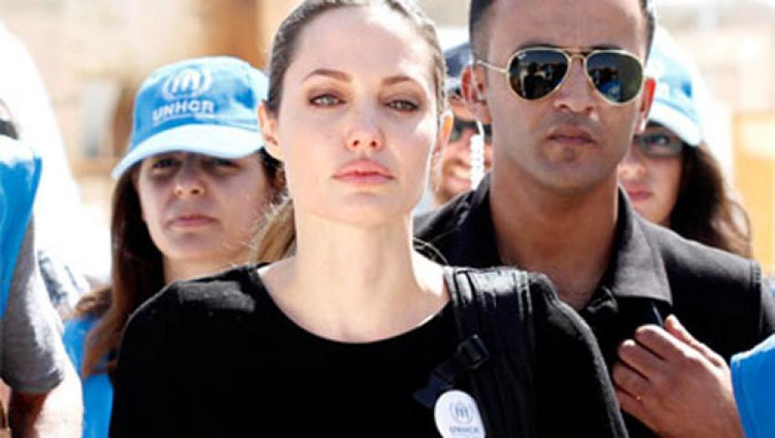 Midyat'a Angelina Jolie sürprizi