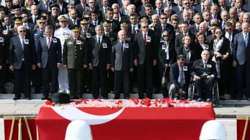İşte Süleyman Demirel'in cenazesine katılan tek HDP'li