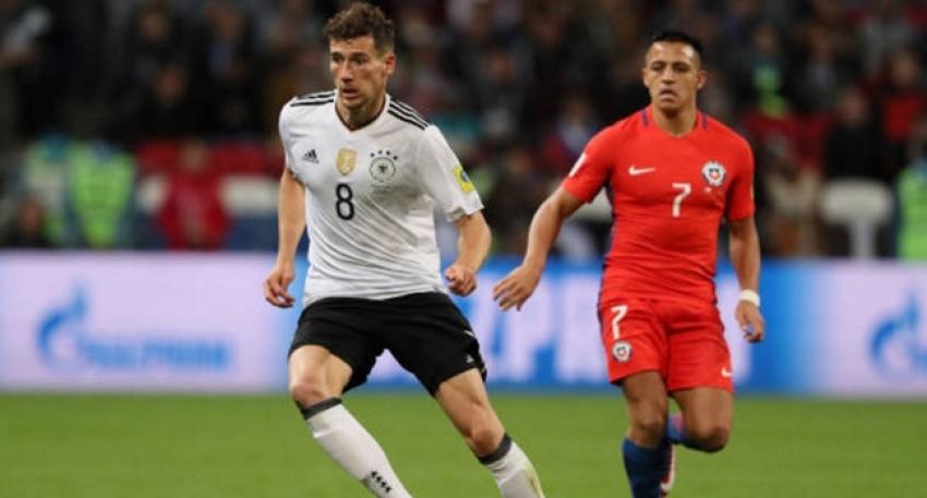 Almanya ile Şili berabere kaldı
