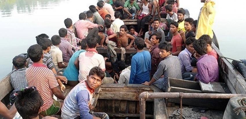 727 göçmeni taşıyan tekne bulundu