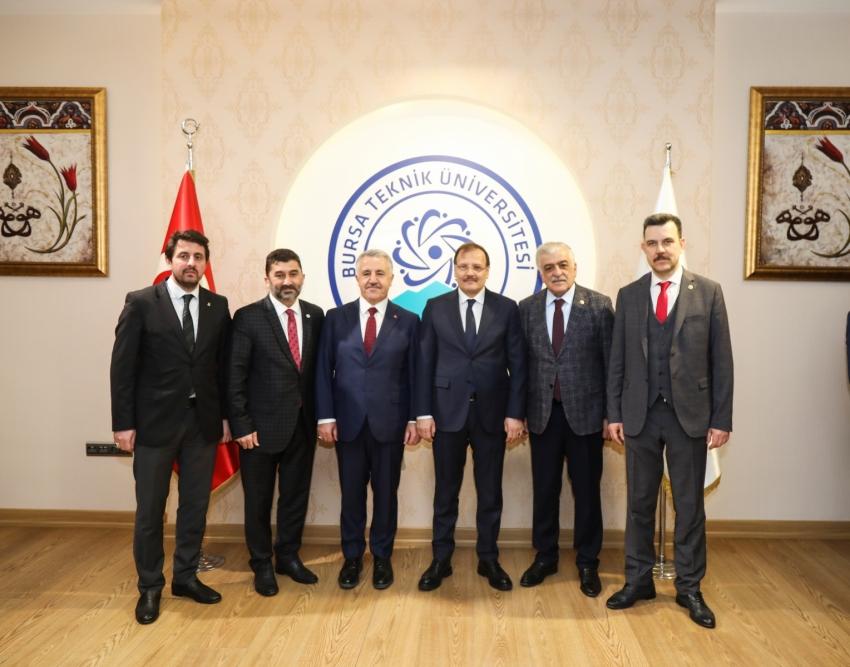 Bursa Teknik Üniversitesi'ne yurt sözü