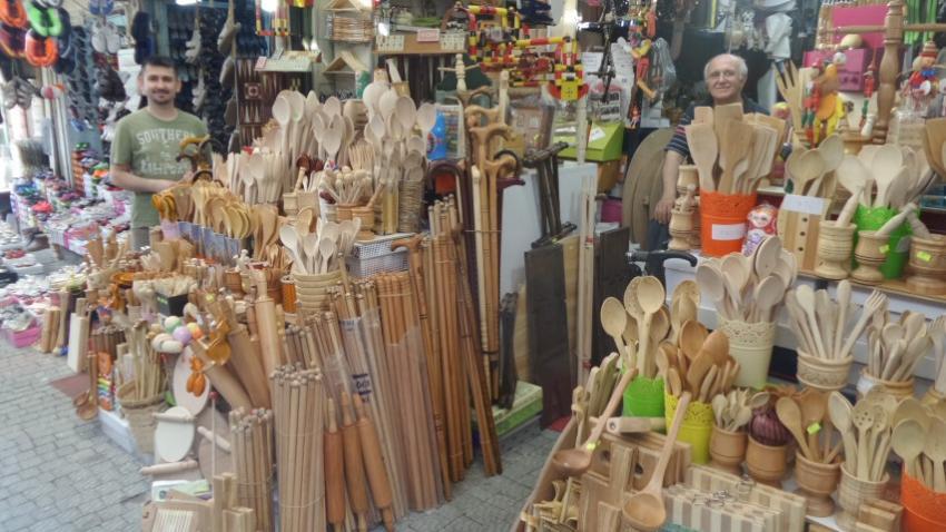 Çancılar Çarşısı turistlerin ilgi odağı oluyor (ÖZEL HABER)