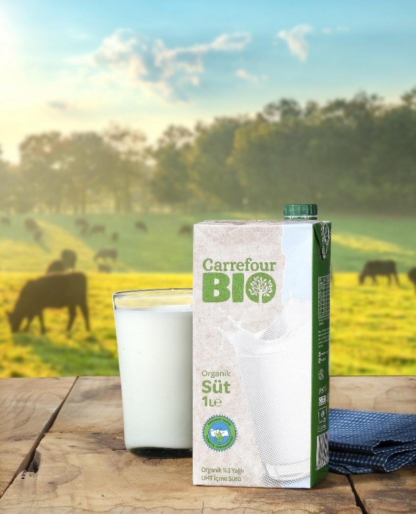 Türkiye'nin ilk öz markalı organik sütü raflardaki yerini aldı