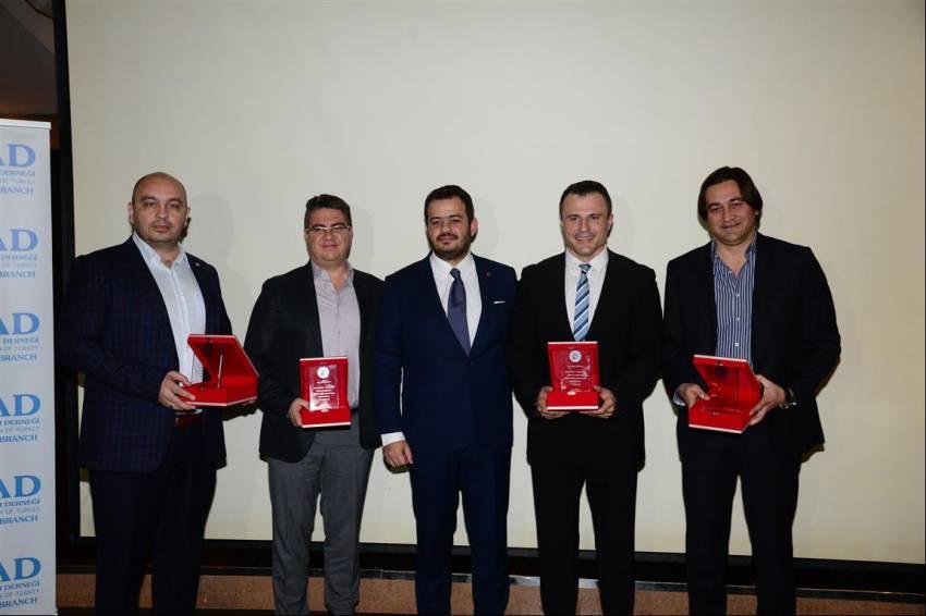 TÜGİAD Bursa Şubesi aylık toplantılarının 4.'sünü gerçekleştirdi.