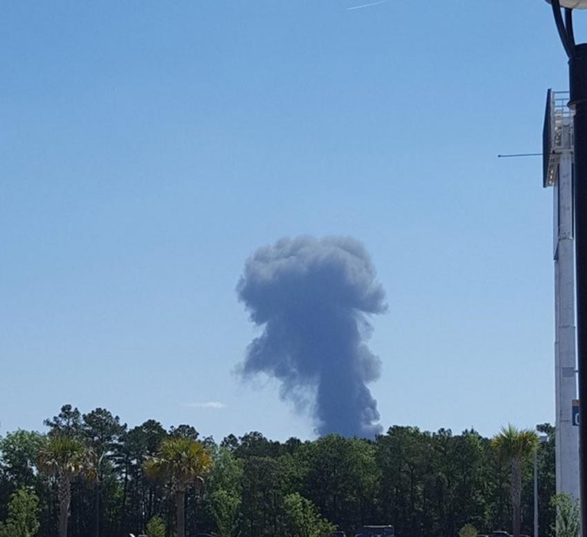 ABD'de nakliye uçağı düştü: 2 ölü