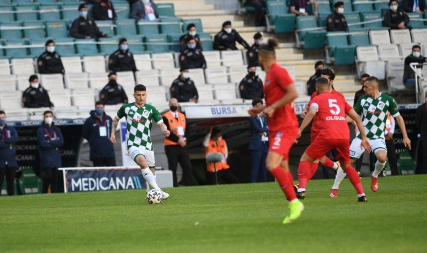 Bursaspor sezonu kötü bitirdi