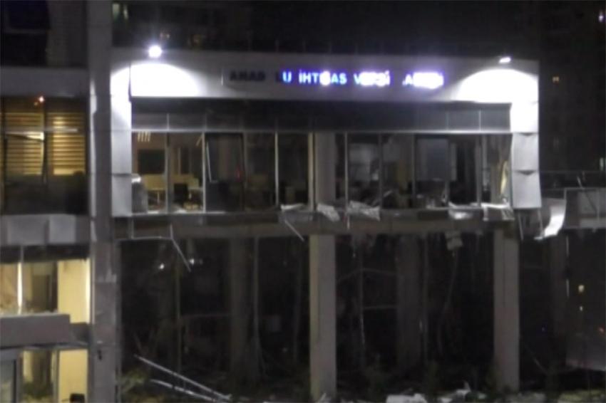 Vergi Dairesindeki bombalı saldırısıyla ilgili soruşturma tamamlandı