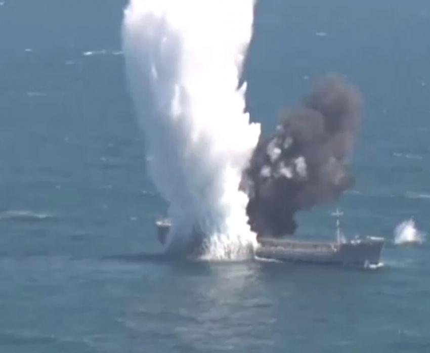 TCG YILDIRAY denizaltısı hedefi böyle batırdı