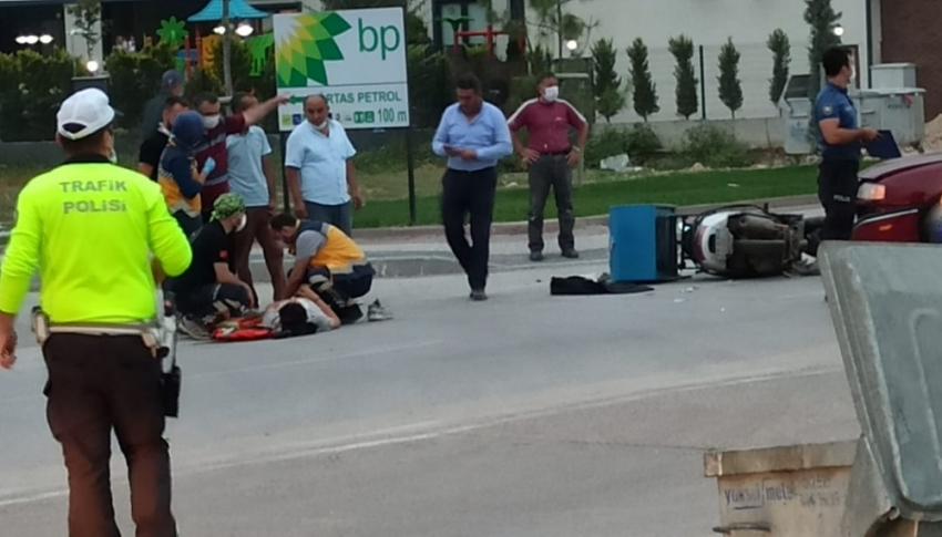 Bursa'da yaralanmalı trafik kazası