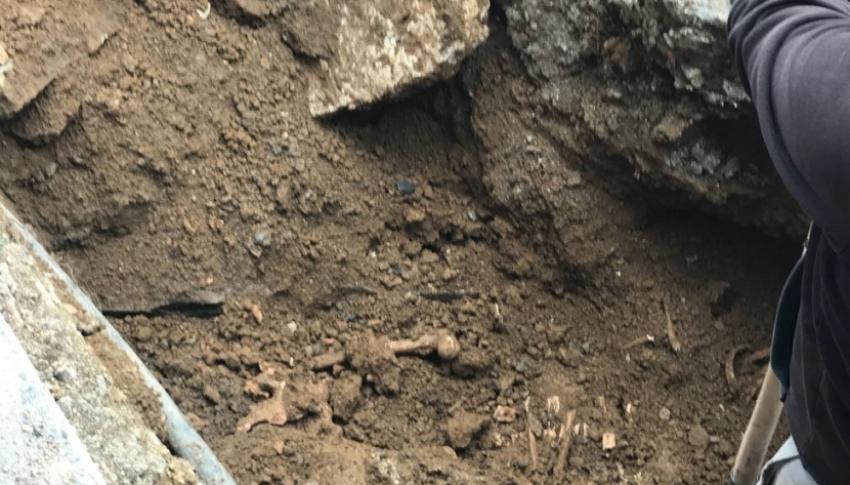 Kazı alanında arkeologlar çalışma yapacak