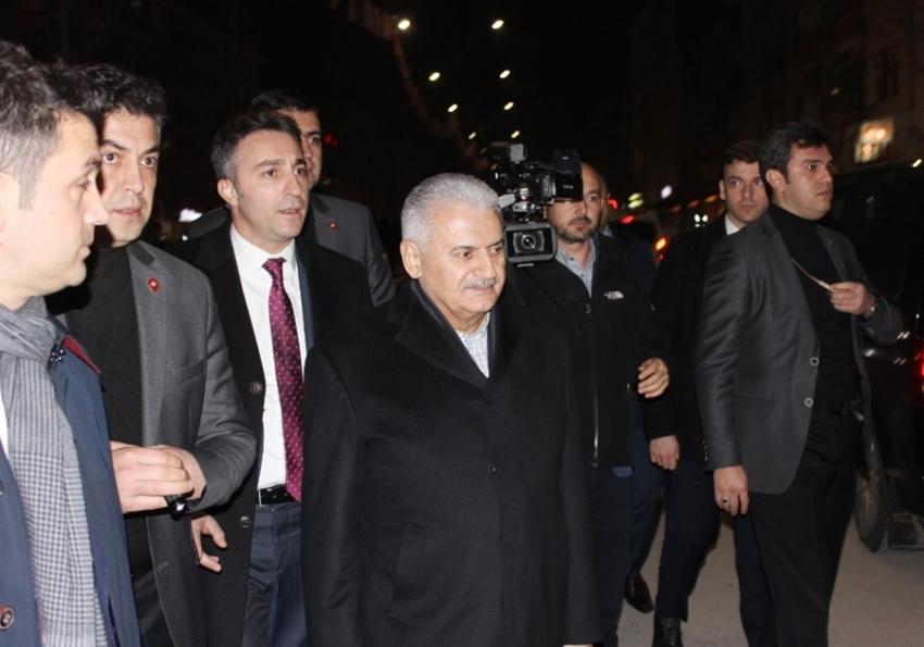 Başbakan Yıldırım'a Kırşehir'de yoğun ilgi