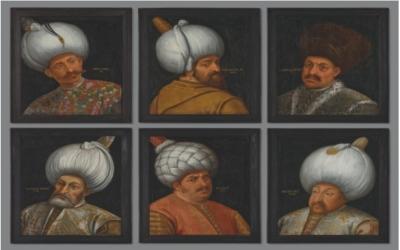 Osmanlı padişahlarına ait 6 portre İngiltere'de satışa sunulacak