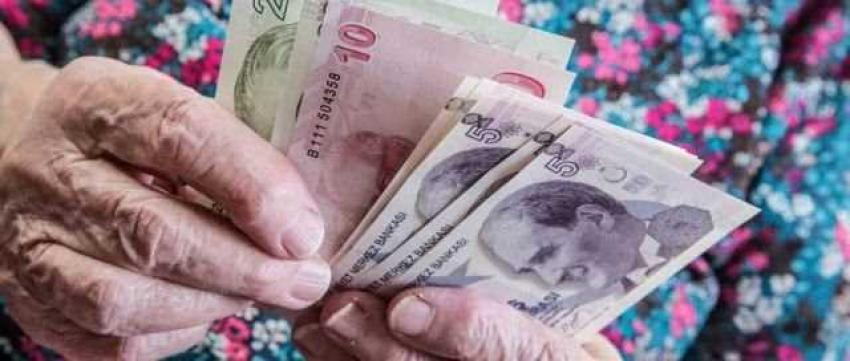 Emeklinin enflasyon zammı kesinleşti