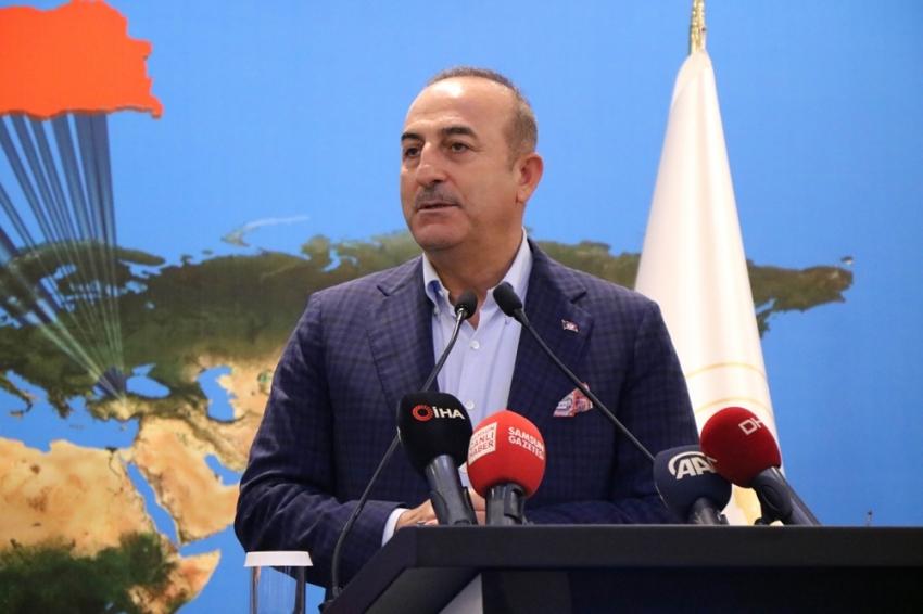 """Bakan Çavuşoğlu: """"Güvenli bölge Münbiç gibi olmayacak"""""""