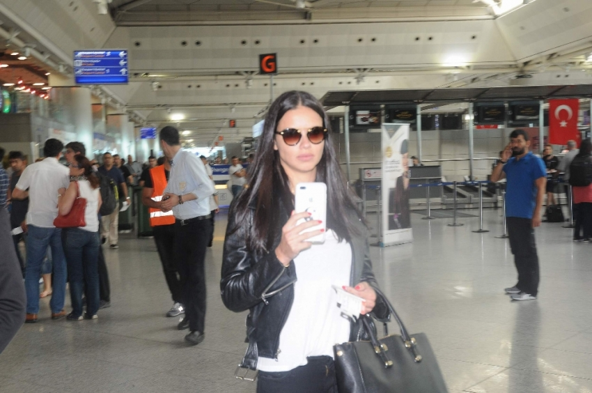 Adriana Lima Miami'ye gitti
