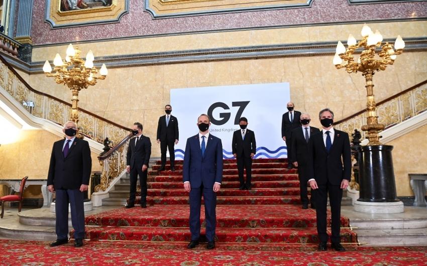 G7 ülkeleri Rusya'ya karşı ortak bildiri yayınladı