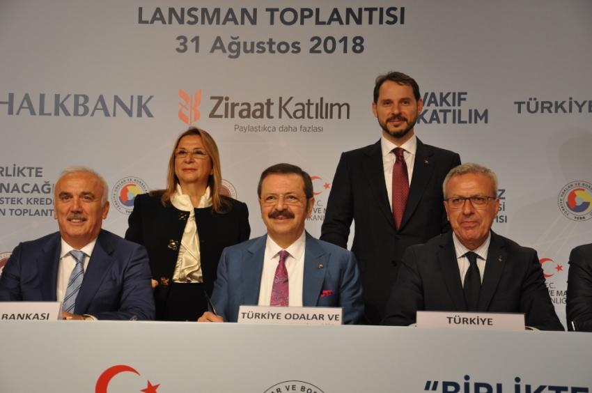 KOBİ'lere destek kredisini içeren protokol imzalandı