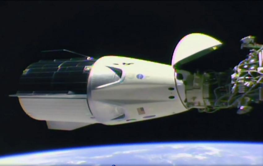 SpaceX Uluslararası Uzay İstasyonuna ulaştı