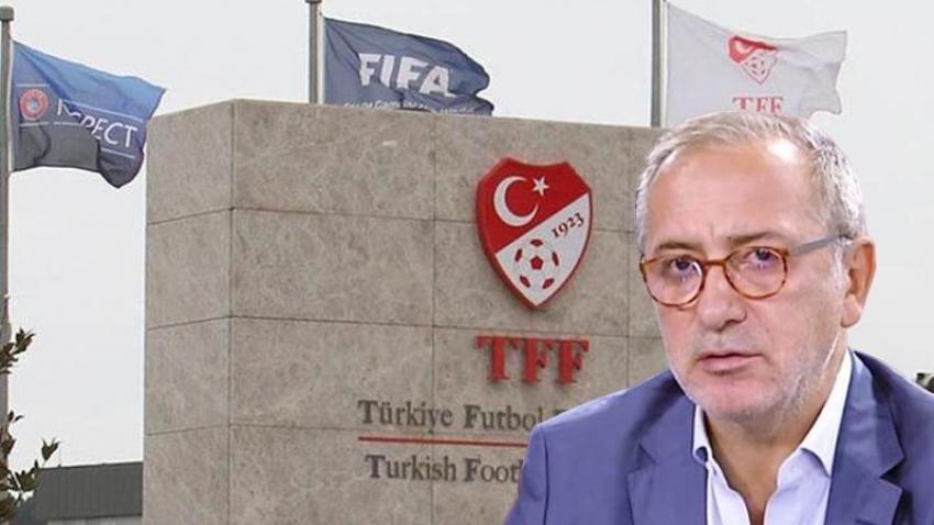 TFF'den Fatih Altaylı'ya çok sert eleştiri!