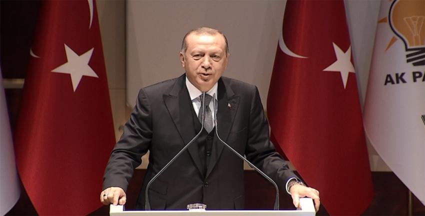 Erdoğan AK Parti'li kadınlara seslendi