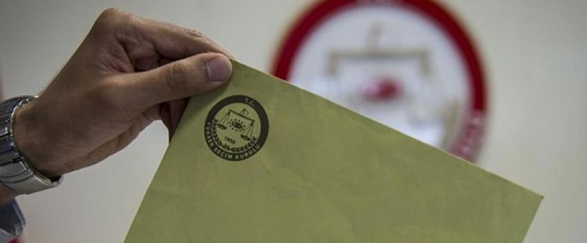 20 parti, 165 bağımsız aday