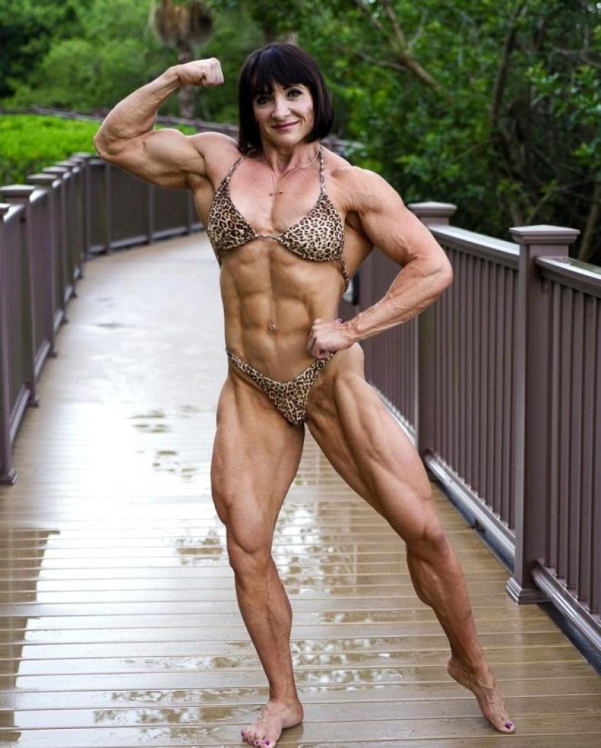 Canavar lakaplı kadın sporcuyu görenler gözlerine inanamıyor