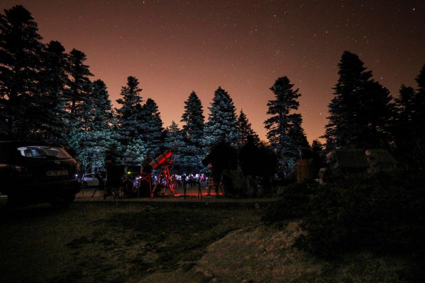 Bursa'da 'Astrofest' heyecanı başladı