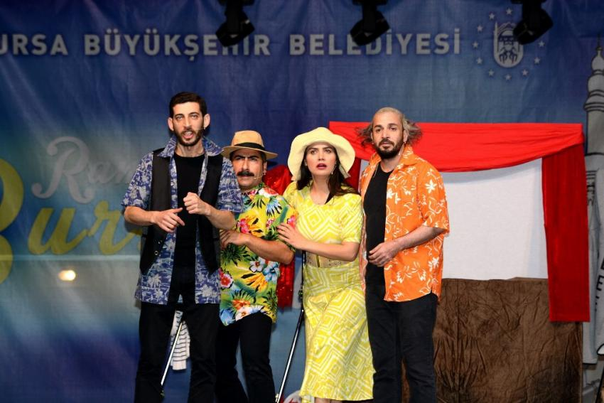 Bursa'da ramazan eğlencesi