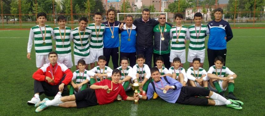 Rahmiye Malcıoğlu Okulu Türkiye Şampiyonu